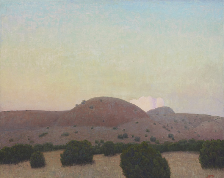Paintings 2013-2016 Hill Near Placitas (Again)