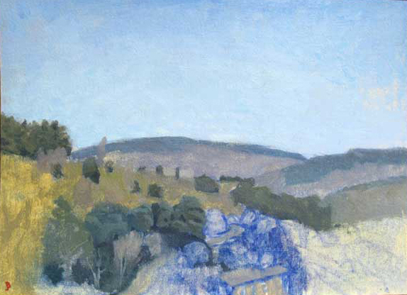 Studies Cortona Morning Landscape