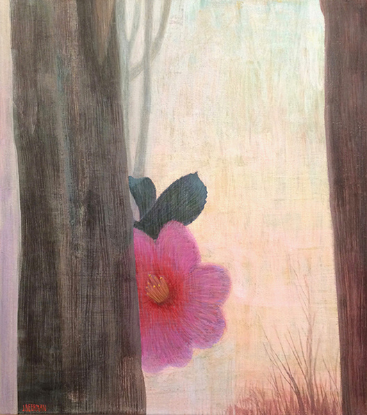 Paintings: 2017 – 2019 Red Camellia, Chatwood Mist