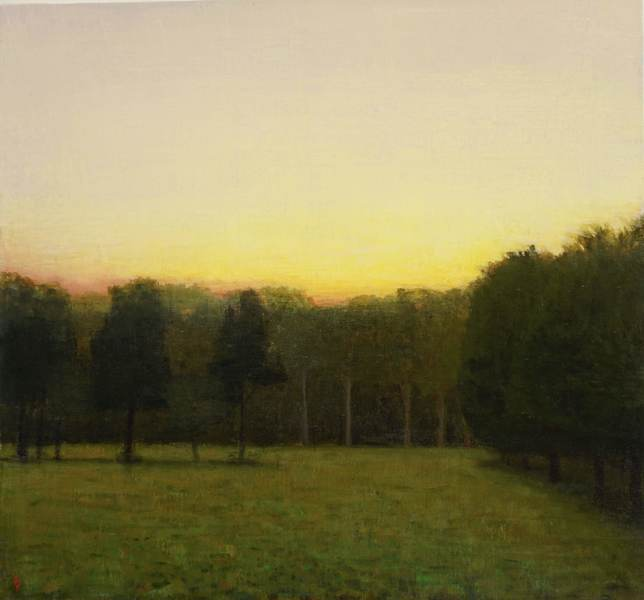 Paintings 2017-2020 Summer Twilight, South Field