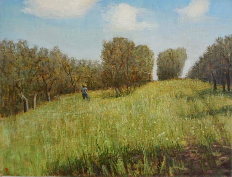 Paintings 2017-2020 Afternoon in the Olive Grove