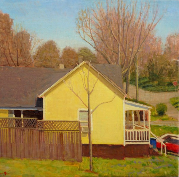 Paintings 2017-2020 Yellow House
