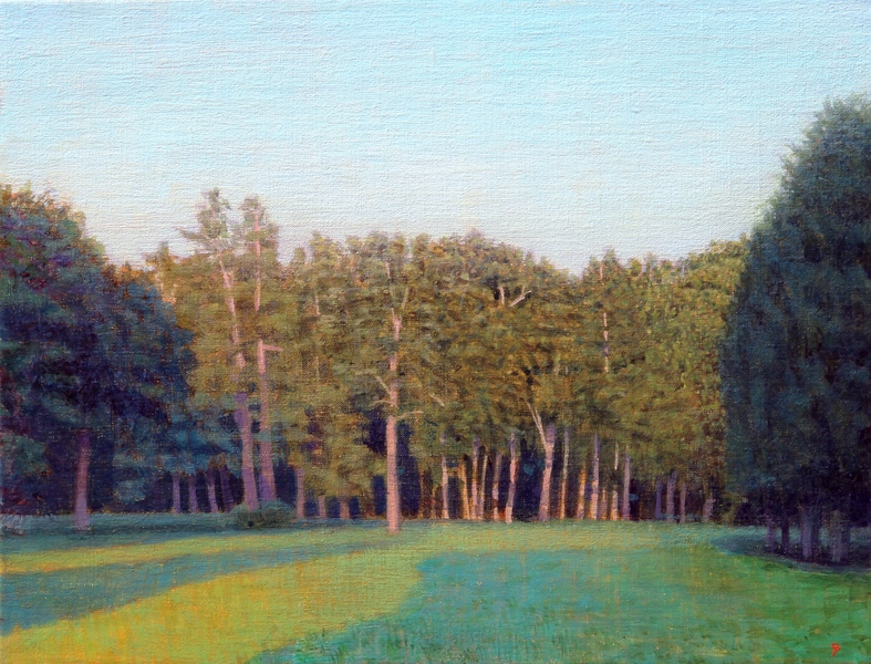 Paintings 2017-2020 South Field #2, Summer Morning, Looking West
