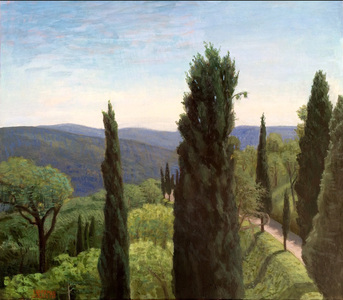May Afternoon, View from Bramasole