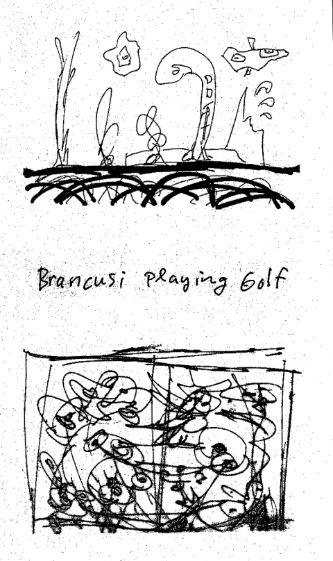 Ideas Brancusi Playing Golf
