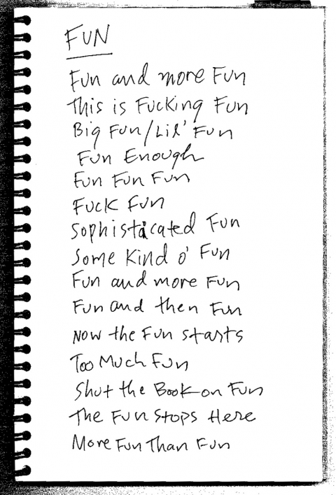 Ideas Some notes on Fun