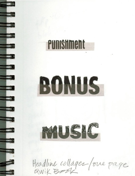 Ideas Punishment Bonus Music