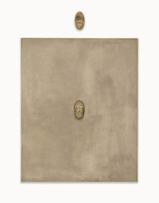 John Fraser paintings Graphite, acrylic, graphite wash, on canvas, on wood panel, with found objects