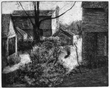 John Hundley Greer Etchings  1979 etching