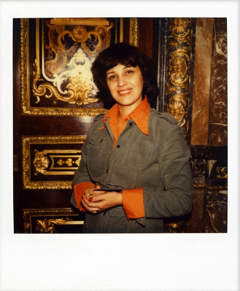 Russian Polaroids Leningrad private club