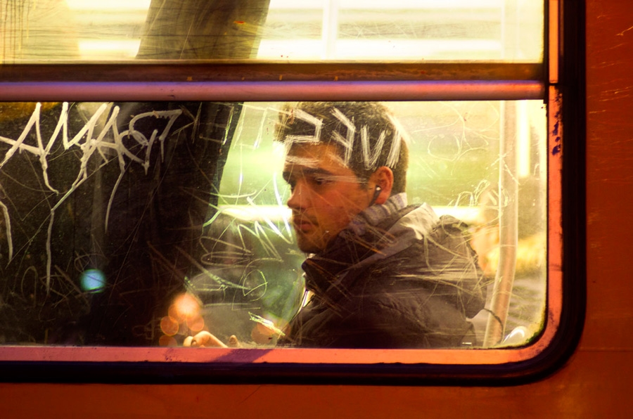 Tram portraits Untitled #10 Milan