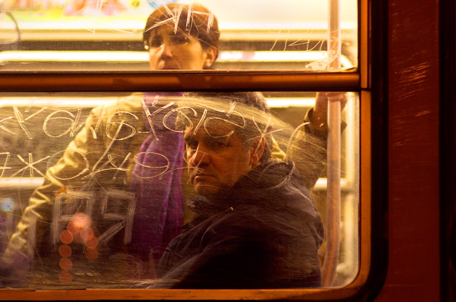 Tram portraits Untitled #12 Milan