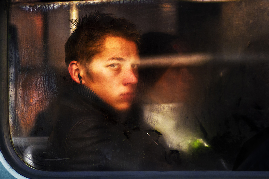 Tram portraits Untitled #13 Riga