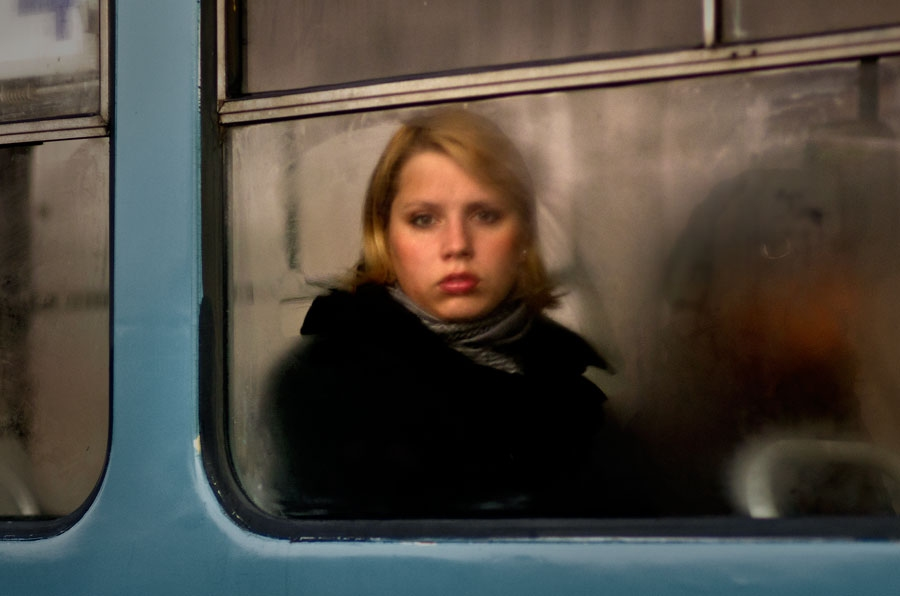 Tram portraits Untitled #4 Riga