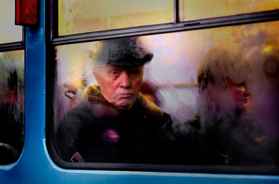 Tram portraits Untitled #5 Riga