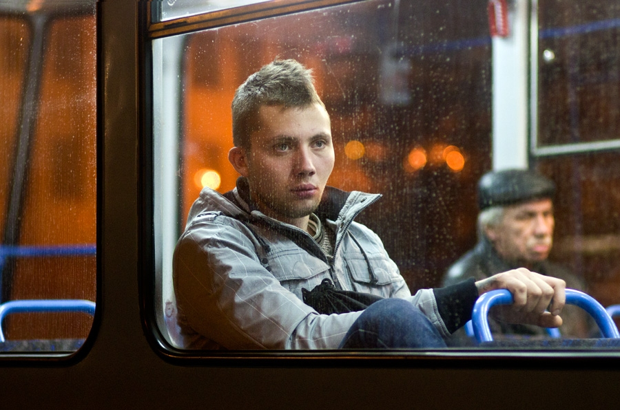 Tram portraits Untitled #8 Riga