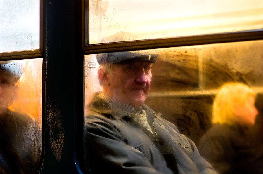Tram portraits Untitled #11 Riga