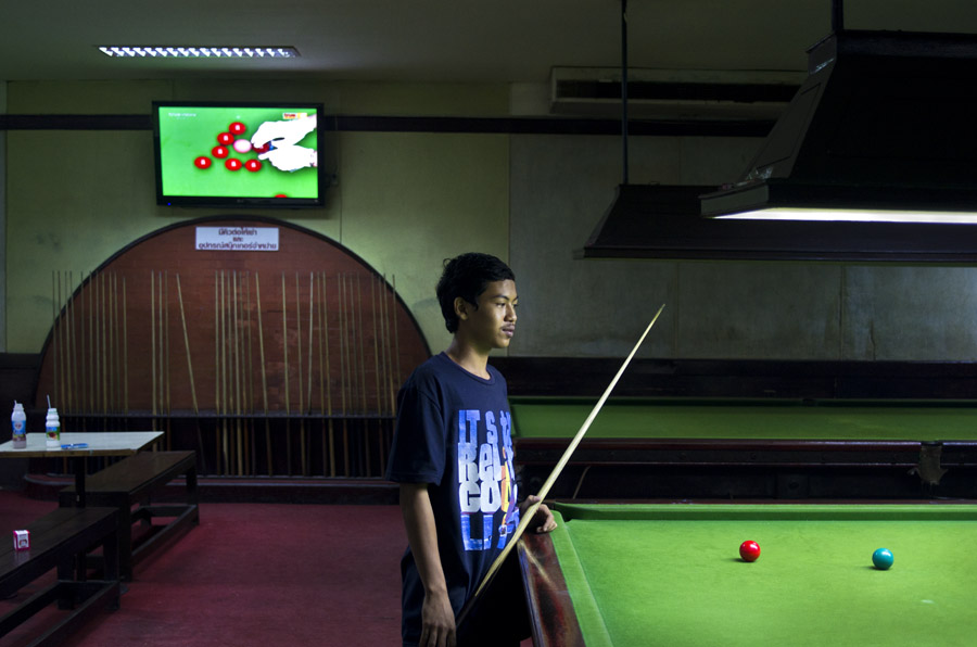 Asian snooker Untitled #7 Bangkok