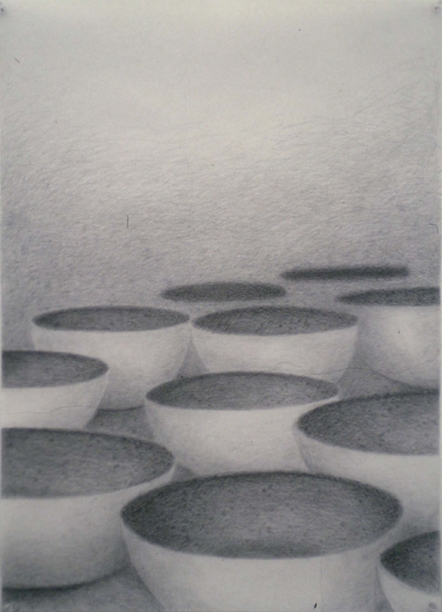 1991 - 2000 Graphite on vellum