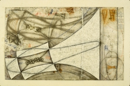 John Newman  Drawing - 1980-1989 Pastel, graphite, chalk and pencil on paper