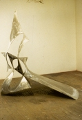 John Newman  Sculpture - 1980-1989 cast and fabricated aluminum