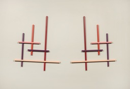 John Pittman Wall Constructions 2003 - 2010 Enamel/Wood