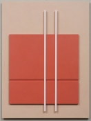 John Pittman Wall Constructions 2003 - 2010 Alkyd/panels/relief