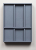 John Pittman Shadow Relief Paintings 2008 - 2013 Alkyd/Wood/Relief