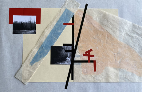 John T Adams Quarantine Projects - Volume 2 Photographs, found objects and vinyl tape