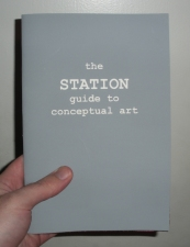 John Weston STATION Guide to Conceptual Art Silkscreen on Paper