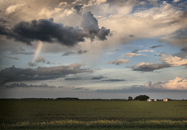The Prairie:  Flat Land, Spacious Skies After the Storm  ©