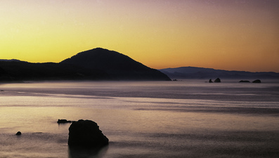 Port Orford at Dawn ©