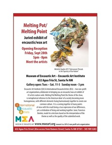 JOY J. ROTBLATT 2018 Exhibitions All Encaustic Exhibition