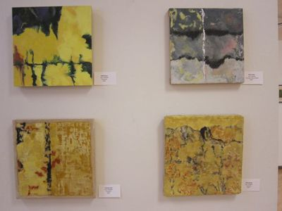 JOY J. ROTBLATT 2014 Exhibitions Encaustic