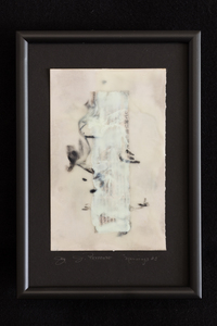 JOY J. ROTBLATT 2015 Exhibitions M/M with encaustic on Sketch Book Paper mounted and framed