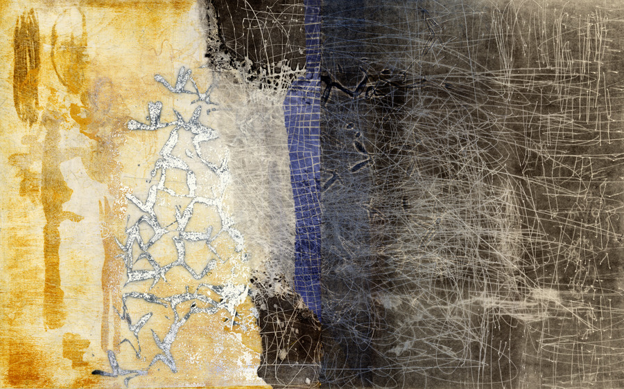 Joyce Silverstone 2016  relief, carborundum collagraph, wood lithograph
