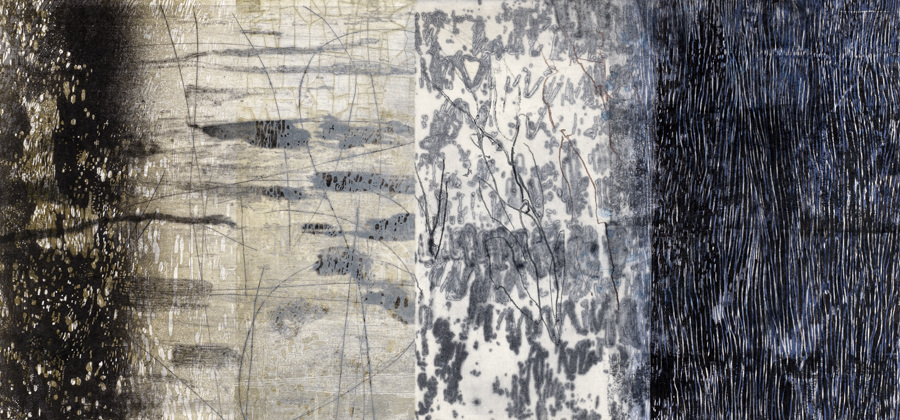 New Work  New Work relief, drypoint, collagraph, monotype