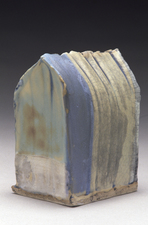 Judith Pointer Jia Houses glazed stoneware, ^10 oxidation