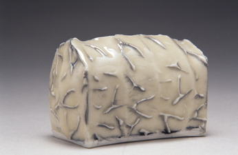 Judith Pointer Jia Houses glazed porcelain, ^10 oxidation