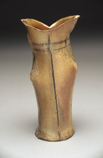 Judith Pointer Jia Vases anagama fired stoneware, ^10