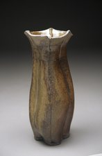 Judith Pointer Jia Vases anagama fired stoneware