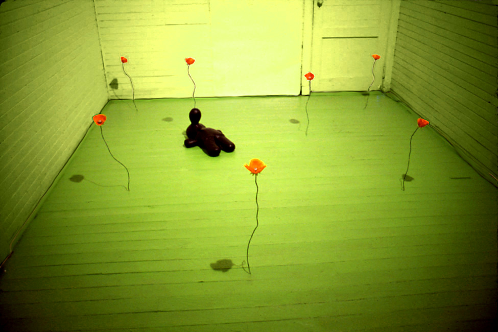 JUDITH PAGE Seeking Fragrance (1996) Mixed media, audio.