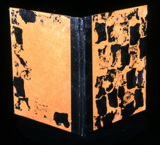 Judith Uehling Books Encaustic & Ink on pre-made form