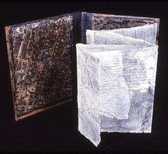 Judith Uehling Books Encaustic & Print on Pre-made book Form