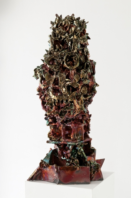 Julia Kunin Sculpture 2011 ceramic