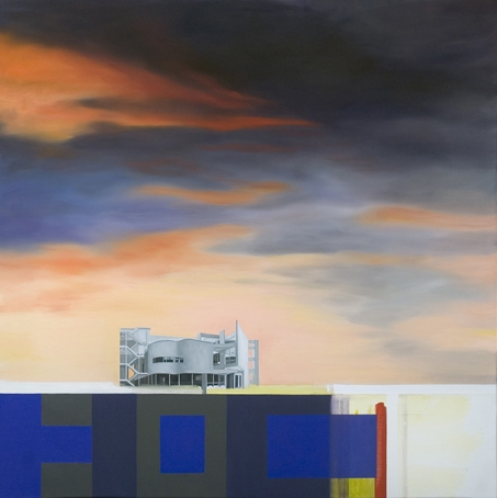 Utopian Structures (2007 - Present) Oil on linen