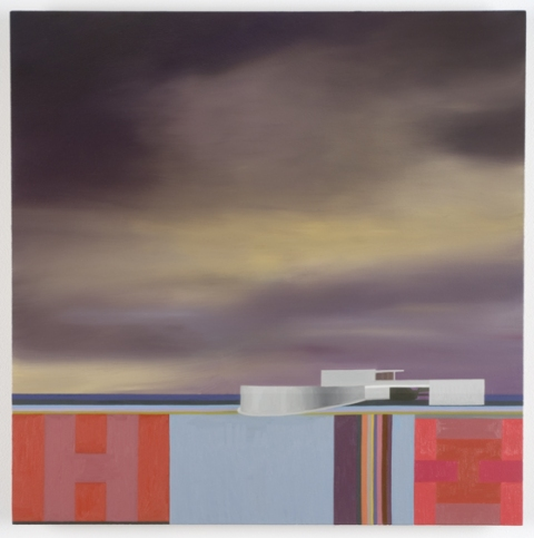 Utopian Structures (2007 - Present) Oil on panel