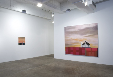 "Utopian Structures (2007 - Present) Installation View: ""Of Other Spaces"" @ Frederieke Taylor Gallery"