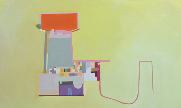 Floor Plans (2011 - Present) Oil and acrylic on panel