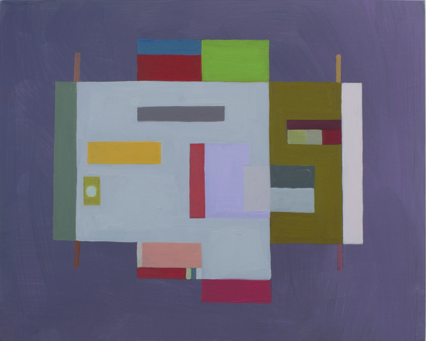 Floor Plans (2011 - Present) Oil on panel